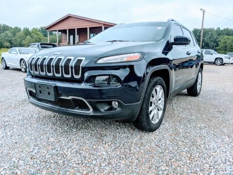 2014 Jeep Cherokee for sale at Delta Motors LLC in Jonesboro AR