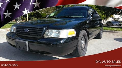 2006 Ford Crown Victoria for sale in Hollywood, FL