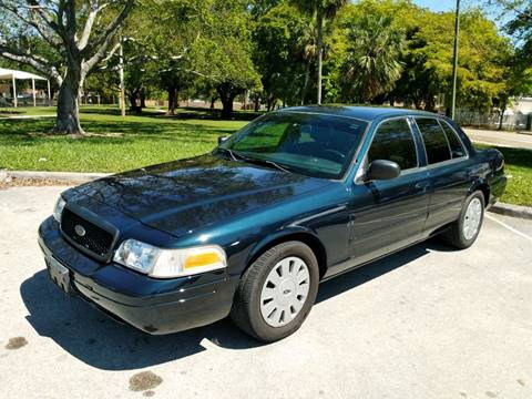 2007 Ford Crown Victoria for sale at DYL Auto Sales in Hollywood FL