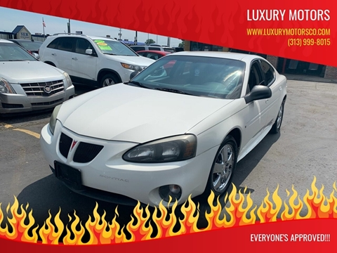 2007 Pontiac Grand Prix for sale in Detroit, MI