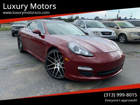 2010 Porsche Panamera for sale in Detroit, MI