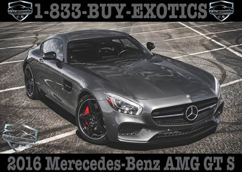2016 Mercedes-Benz AMG GT for sale in Canyon Lake, CA