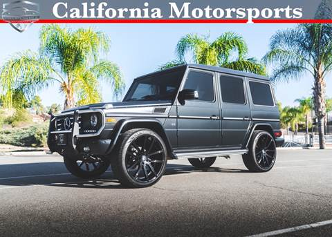 2014 Mercedes-Benz G-Class for sale in Canyon Lake, CA