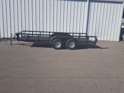 2019 CEN TEX 6 X 16 Pipe Top Trailer for sale in Belton, TX