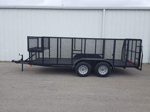 2019 CEN TEX 6 X 16 Landscape Trailer for sale in Belton, TX