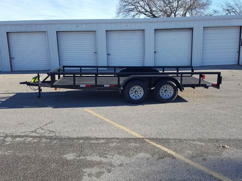 2019 CEN TEX 7 X 16 Pipe Top Trailer for sale in Belton, TX