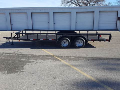 2019 CEN TEX 7 X 18 Pipe Top Trailer for sale in Belton, TX