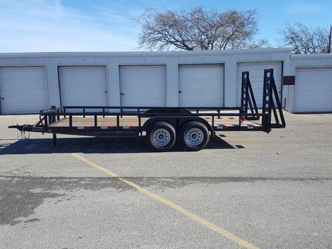 2019 CEN TEX 7 X 18 Heavy Duty Trailer for sale in Belton, TX