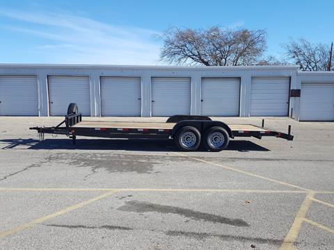 2019 CEN TEX 7 X 22 Heavy Duty Car Hauler for sale in Belton, TX