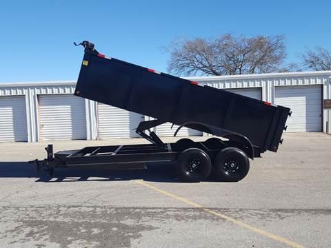 2019 SALVATION 7X16 Dump Trailer for sale in Belton, TX