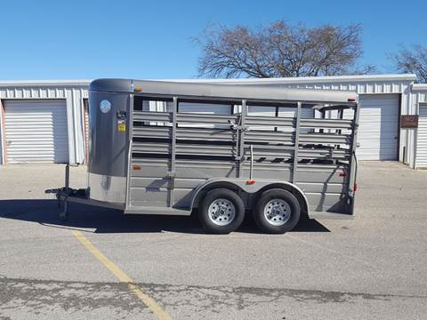 2018 W W 5X14 Stock Trailer for sale in Belton, TX