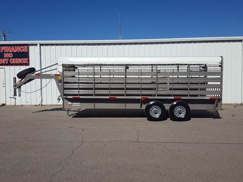 2019 W W 6'8 x 20 Cattle Trailer for sale in Belton, TX