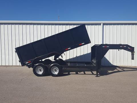 2019 SALVATION 7X14 Gooseneck Dump for sale in Belton, TX
