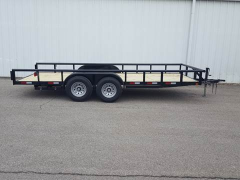 2019 CEN TEX 7X18 Mid Duty Pipe Top for sale in Belton, TX