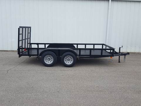 2019 CEN TEX 6X14 Tailgate Trailer for sale in Belton, TX
