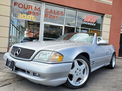 Mercedes Sl500 For Sale >> 2000 Mercedes Benz Sl Class For Sale In Buffalo Ny