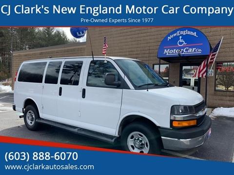 2015 Chevrolet Express Passenger for sale in Hudson, NH