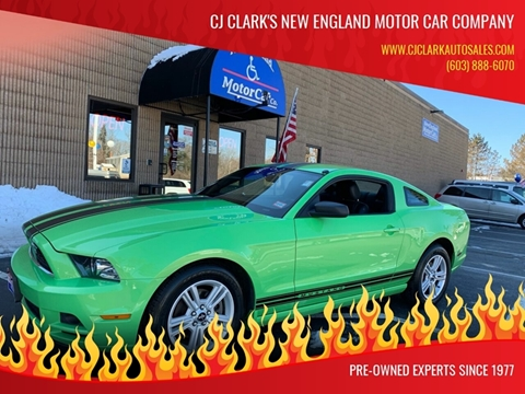 2013 Ford Mustang for sale in Hudson, NH