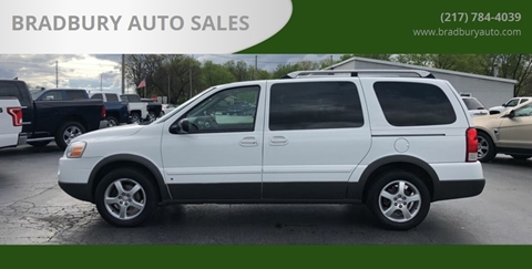 2006 Pontiac Montana SV6 for sale in Gibson City, IL
