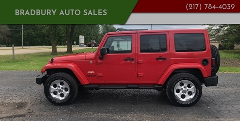 2014 Jeep Wrangler Unlimited for sale in Gibson City, IL