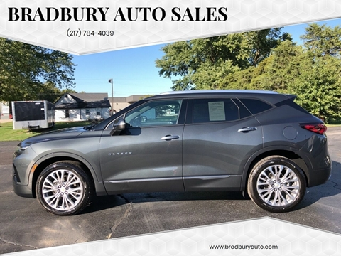 2019 Chevrolet Blazer for sale in Gibson City, IL