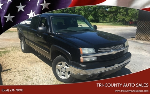 2005 Chevrolet Silverado 1500 for sale in Pendleton, SC