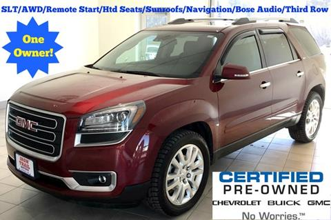 2016 GMC Acadia for sale in Virginia, MN