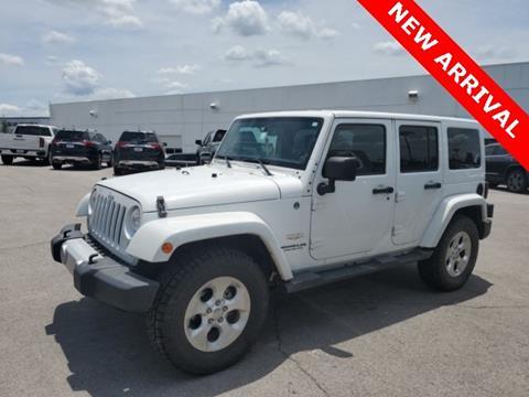 2014 Jeep Wrangler Unlimited for sale in Broken Arrow, OK