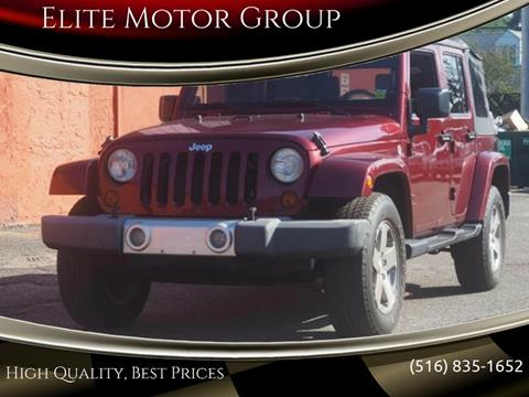 2008 Jeep Wrangler Unlimited for sale at Elite Motor Group in Farmingdale NY