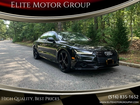 2016 Audi A7 for sale at Elite Motor Group in Farmingdale NY