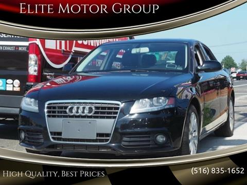 2012 Audi A4 for sale at Elite Motor Group in Farmingdale NY