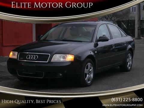 2003 Audi A6 for sale at Elite Motor Group in Farmingdale NY