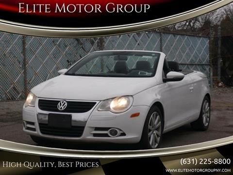 2009 Volkswagen Eos for sale at Elite Motor Group in Farmingdale NY