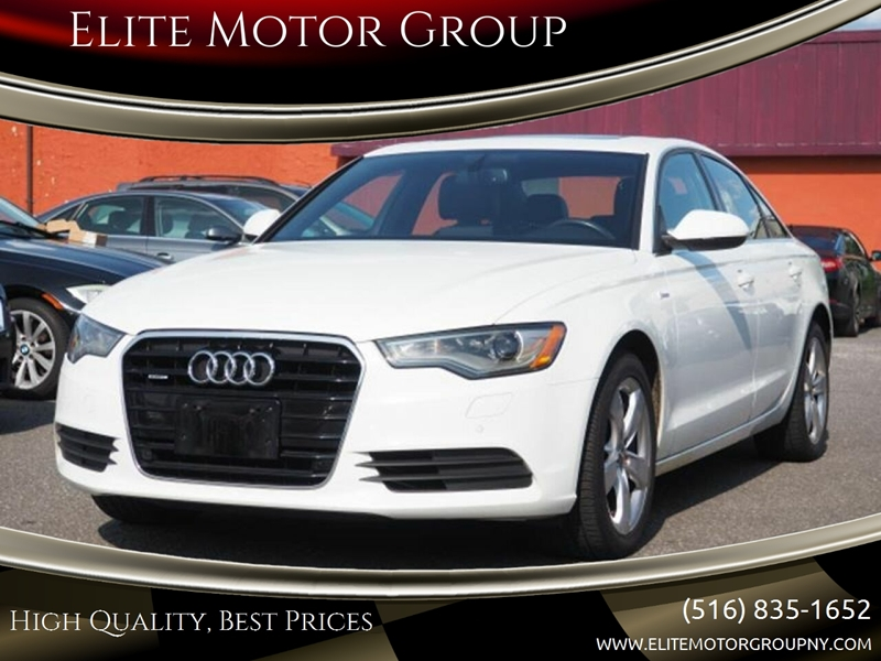 2012 Audi A6 for sale at Elite Motor Group in Farmingdale NY