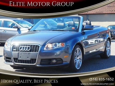 2009 Audi A4 for sale at Elite Motor Group in Farmingdale NY