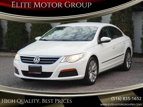 2012 Volkswagen CC for sale at Elite Motor Group in Farmingdale NY