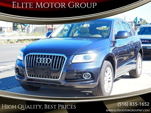 2013 Audi Q5 for sale at Elite Motor Group in Farmingdale NY
