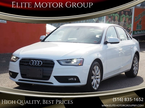 2013 Audi A4 for sale at Elite Motor Group in Farmingdale NY