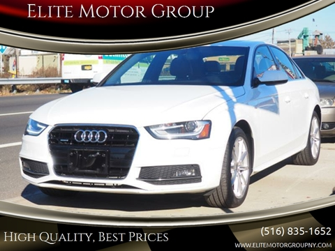 2016 Audi A4 for sale at Elite Motor Group in Farmingdale NY
