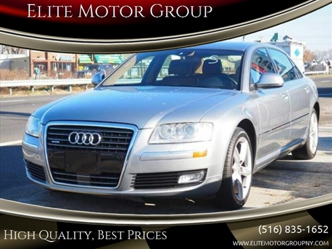 2009 Audi A8 L for sale at Elite Motor Group in Farmingdale NY
