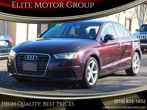 2015 Audi A3 for sale at Elite Motor Group in Farmingdale NY