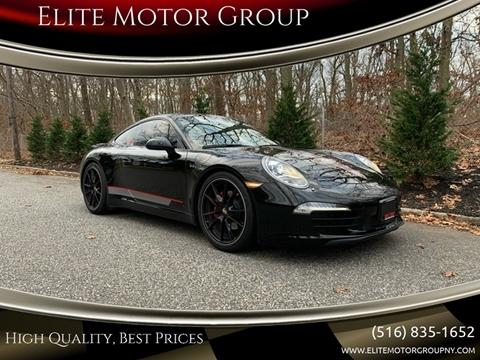 2013 Porsche 911 for sale at Elite Motor Group in Farmingdale NY