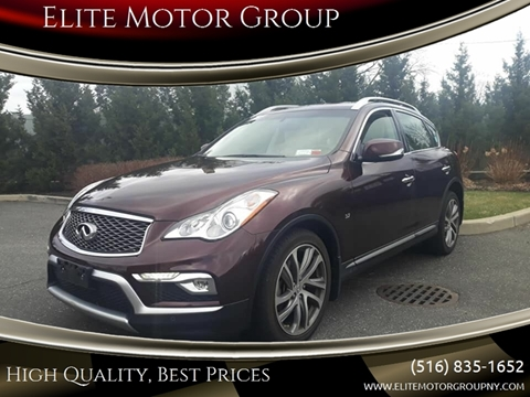 2016 Infiniti QX50 for sale at Elite Motor Group in Farmingdale NY