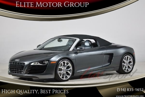 2012 Audi R8 for sale at Elite Motor Group in Farmingdale NY