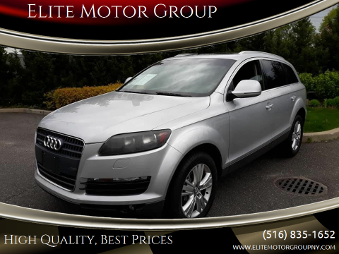 2009 Audi Q7 for sale at Elite Motor Group in Farmingdale NY