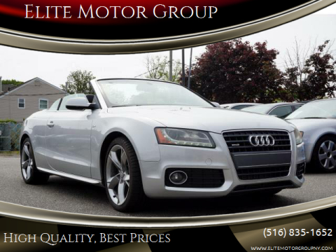 2011 Audi A5 for sale at Elite Motor Group in Farmingdale NY