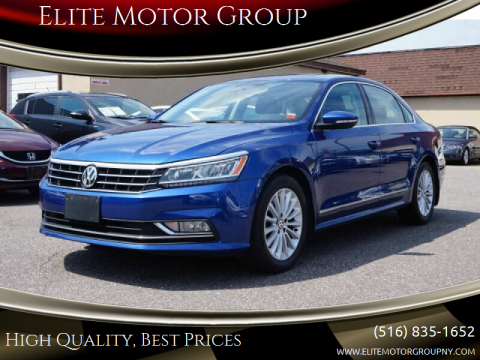 2016 Volkswagen Passat for sale at Elite Motor Group in Farmingdale NY