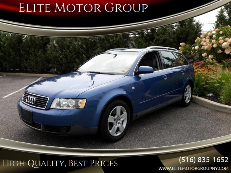 2002 Audi A4 for sale at Elite Motor Group in Farmingdale NY