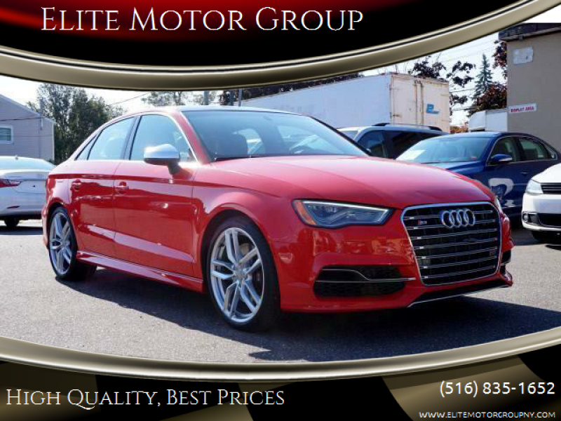 2015 Audi S3 for sale at Elite Motor Group in Farmingdale NY