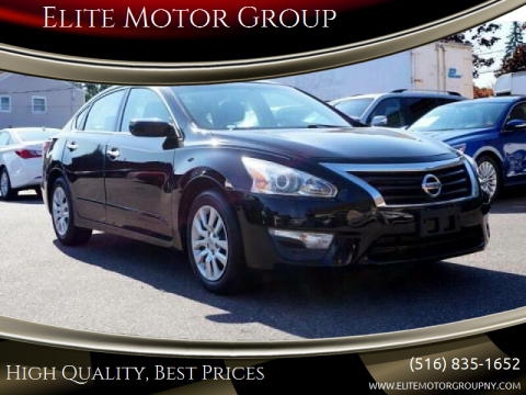 2015 Nissan Altima for sale at Elite Motor Group in Farmingdale NY